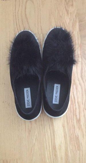 Steve Madden blogger Schuhe mit Fell