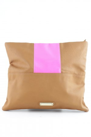 Steve Madden Clutch cognac Colourblocking Street-Fashion-Look