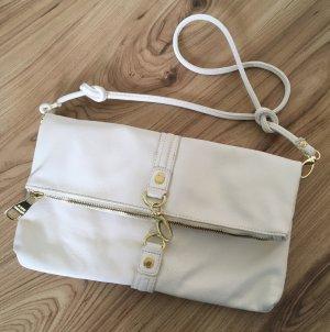 Steve Madden Damen Tasche Weiß Nude Crossbody Bag Abendtasche Schultertasche