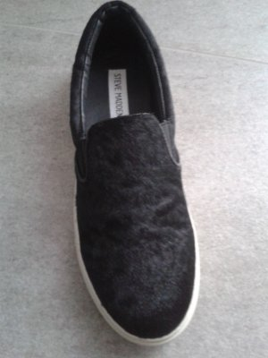 Steve Madden ECENTRIC - Slipper - black pony