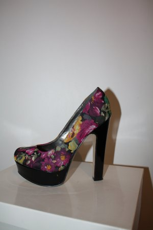 STEVE MADDEN girl - super coole Plateau-Pumps mit Blumenprint! Gr. 36