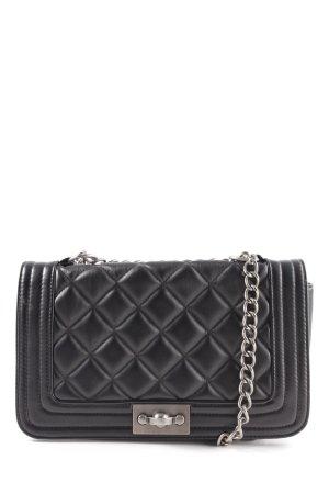 Steve Madden Handtasche schwarz Steppmuster Elegant
