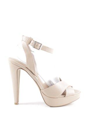 Steve Madden High Heel Sandaletten wollweiß Elegant