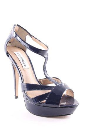 Steve Madden High Heel Sandaletten dunkelblau Elegant