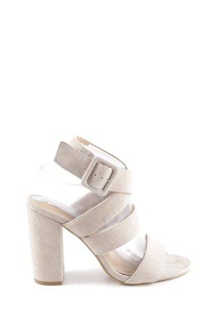 Steve Madden High Heel Sandaletten wollweiß Casual-Look