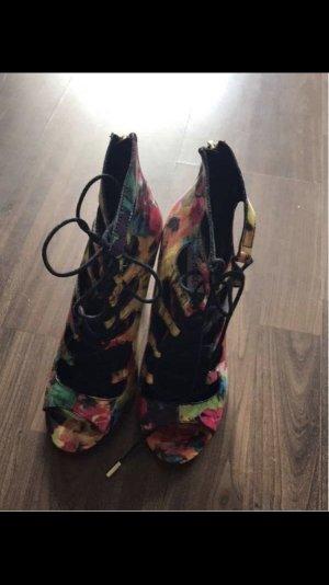 Steve Madden High Heel Sandal yellow-pink