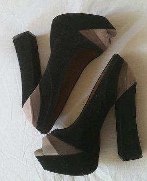 Steve Madden High Heels mit Blockabsatz und Plateau *blogger*