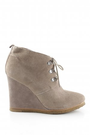 Steve Madden Wedge Booties brown business style