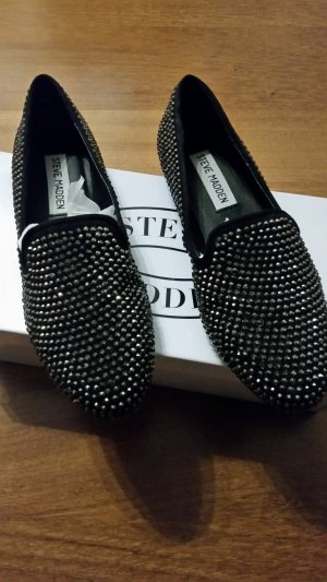 Steve Madden Ballerinas with Toecap black-silver-colored