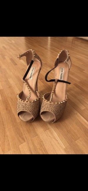 Steve Madden High Heel Sandal gold-colored-black