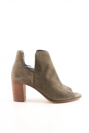 Steve Madden Peep Toe Booties khaki-brown business style