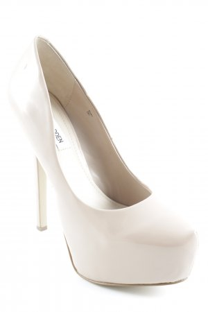 Steve Madden Plateau-Pumps nude Party-Look