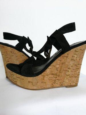 Steve Madden High-Heeled Sandals black leather