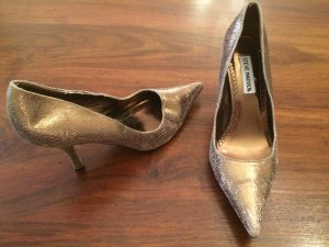 Steve Madden Pumps Metallic Leder