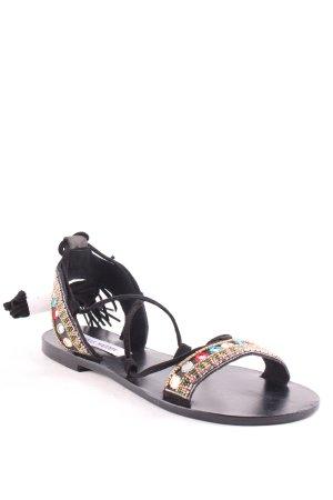 Steve Madden Romeinse sandalen zwart casual uitstraling