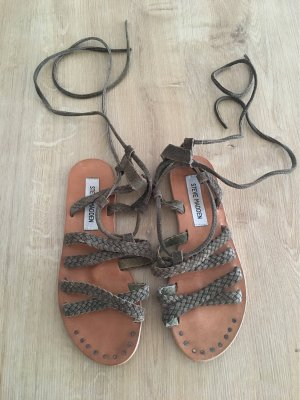 Steve Madden Roman Sandals khaki