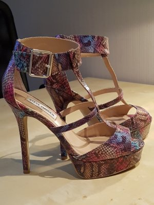 Steve Madden Platform High-Heeled Sandal multicolored