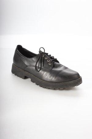 Steve Madden Schnürschuhe schwarz klassischer Stil