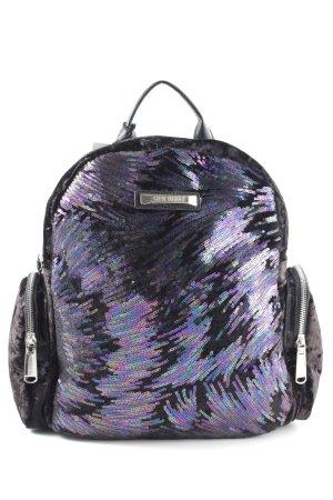 Steve Madden School Backpack lilac-black casual look