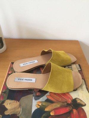 Steve Madden Slides Sommer Schuhe Sandalen gelb