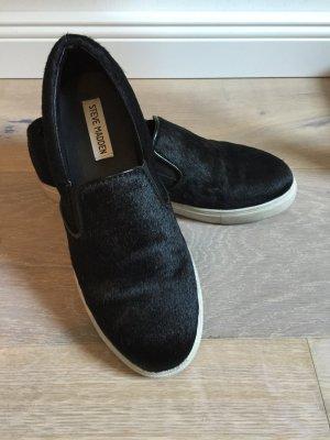 Steve Madden Slipons Schuhe schwarz Felloptik 38