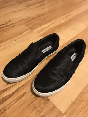 Steve Madden Slipper Sneaker Fell Leder 39