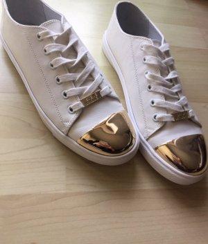Steve Madden Sneaker weiß gold