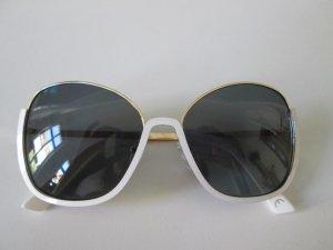 Steve Madden Lunettes de soleil blanc-doré