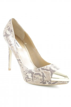 Steve Madden Spitz-Pumps Animalmuster Glanz-Optik
