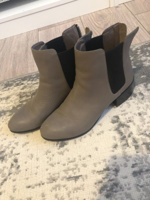 Steve Madden Short Boots grey brown leather