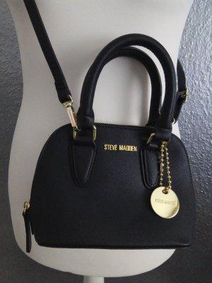 Steve Madden Sac porté épaule noir-doré faux cuir