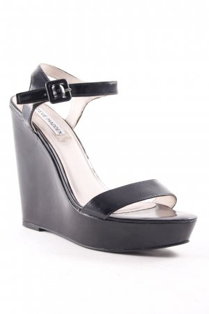 Steve Madden Wedge Sandals black classic style