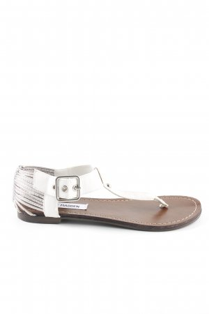 Steve Madden Toe-Post sandals multicolored casual look