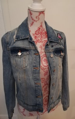 Stickerei Jeansjacke Tom Tailor
