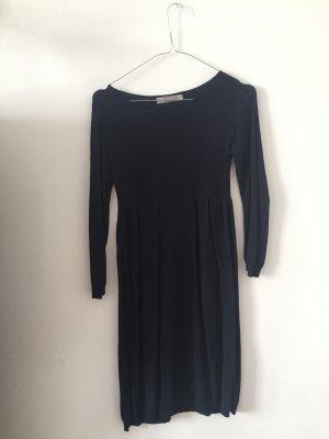 Stickkleid dunkelblau von Zara S