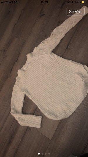 Tahari Cardigan long crème-blanc cassé