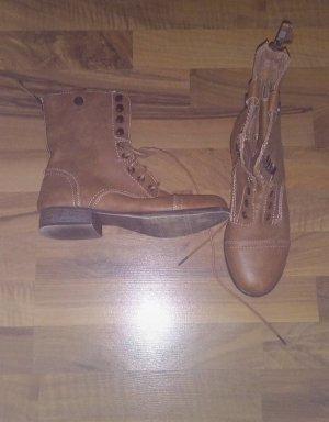 Winter Booties bronze-colored-light brown