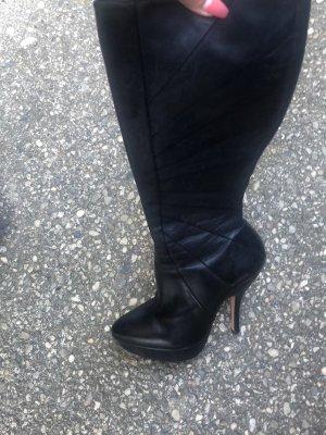 Buffalo London Plateauzool Laarzen zwart