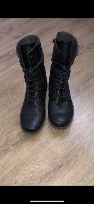 Esprit Korte laarzen zwart