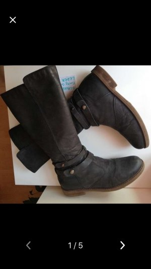 Funky Girls Winter Boots black