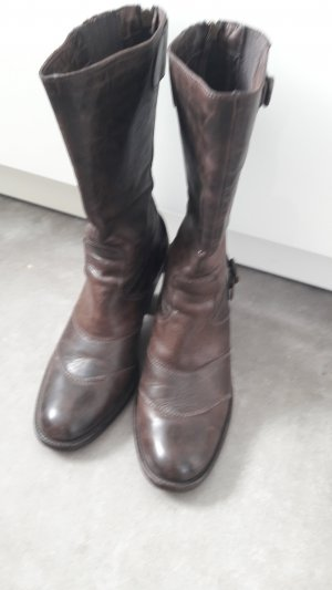 Belstaff Ankle Boots dark brown