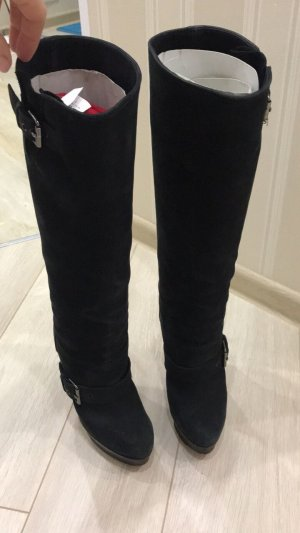 huge selection of 2dad8 d3ab4 Christian Louboutin Heel Boots black