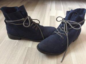 Marco Tozzi Stivaletto blu scuro-grigio