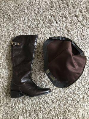 Salamander Jackboots black brown leather