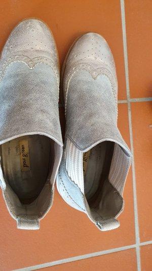 Paul Green Short Boots light grey-azure