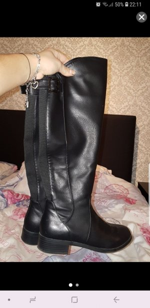 no name Stretch Boots black