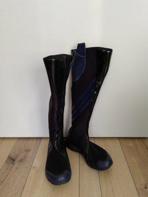 Yohji Yamamoto Stretch Boots dark blue
