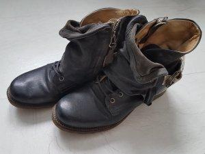 Airstep Korte laarzen zwart Leer