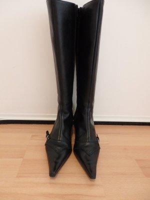Stiefel aus echtem Leder/ Gr.36