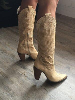 Franca Boots western crème